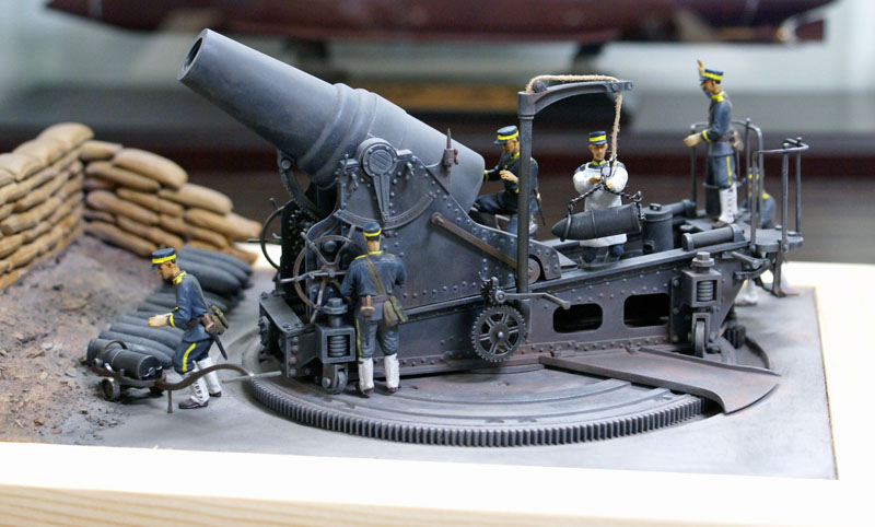 28cm榴弾砲完成